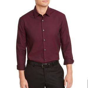Alfani Men's Dress Shirt Port Classic Fit Long Sle